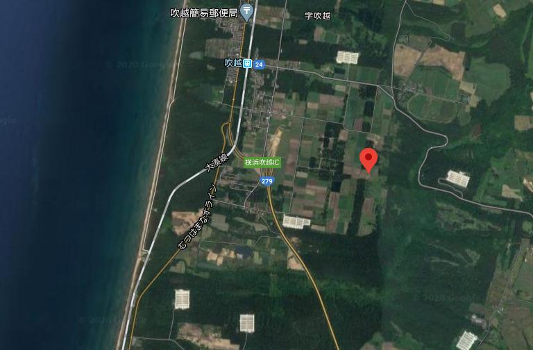青森県_小形風力発電所611号_位置画像