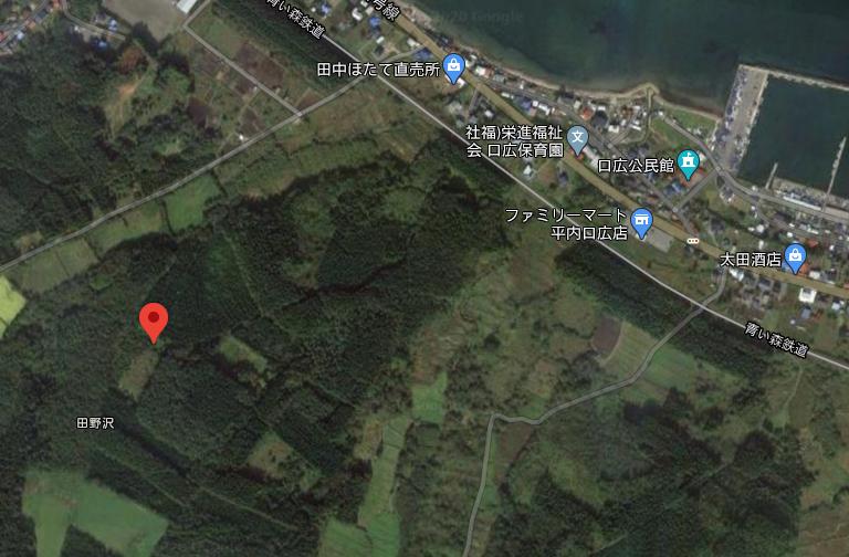 青森県_小形風力発電所612号_位置画像