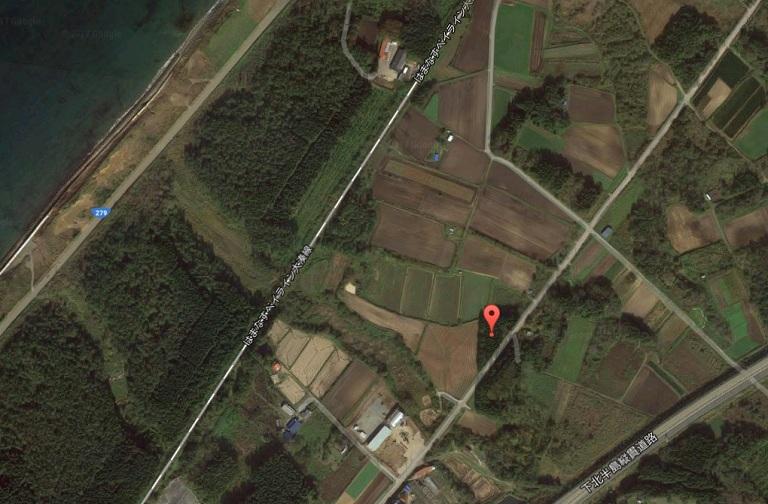 青森県_小形風力発電所130号_位置画像