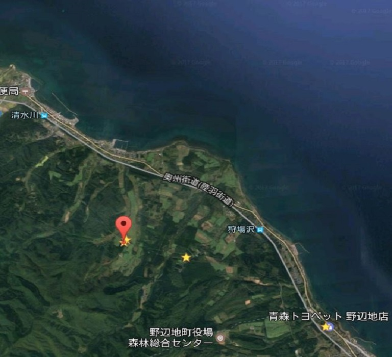 青森県_小形風力発電所309号_位置画像