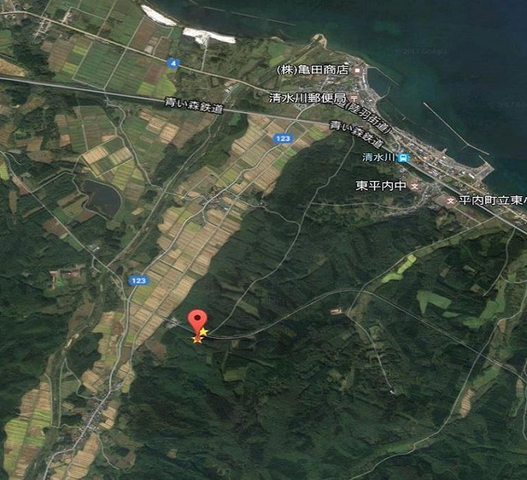 青森県_小形風力発電所312号_位置画像